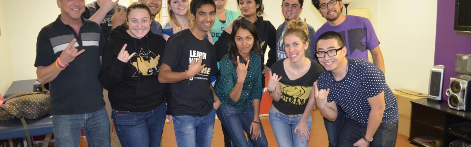 Volunteer University of Colorado Students