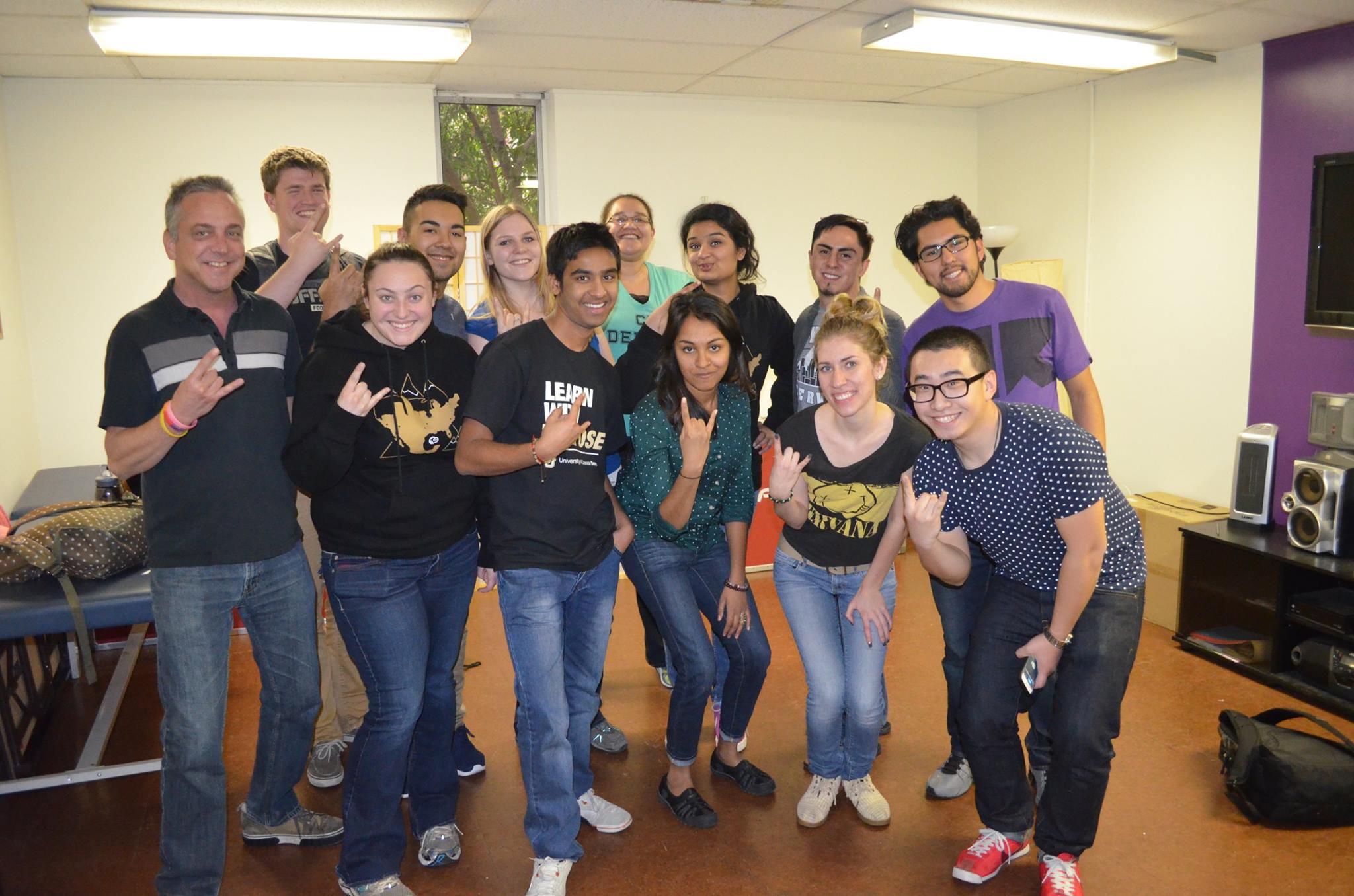 Volunteer University of Colorado Students