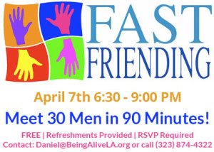 Fast Friending Being Alive Social Event