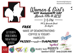Women and Girls HIV Awareness Day 2015