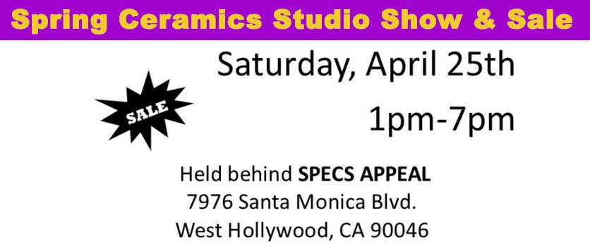 Ceramics Studio Banner