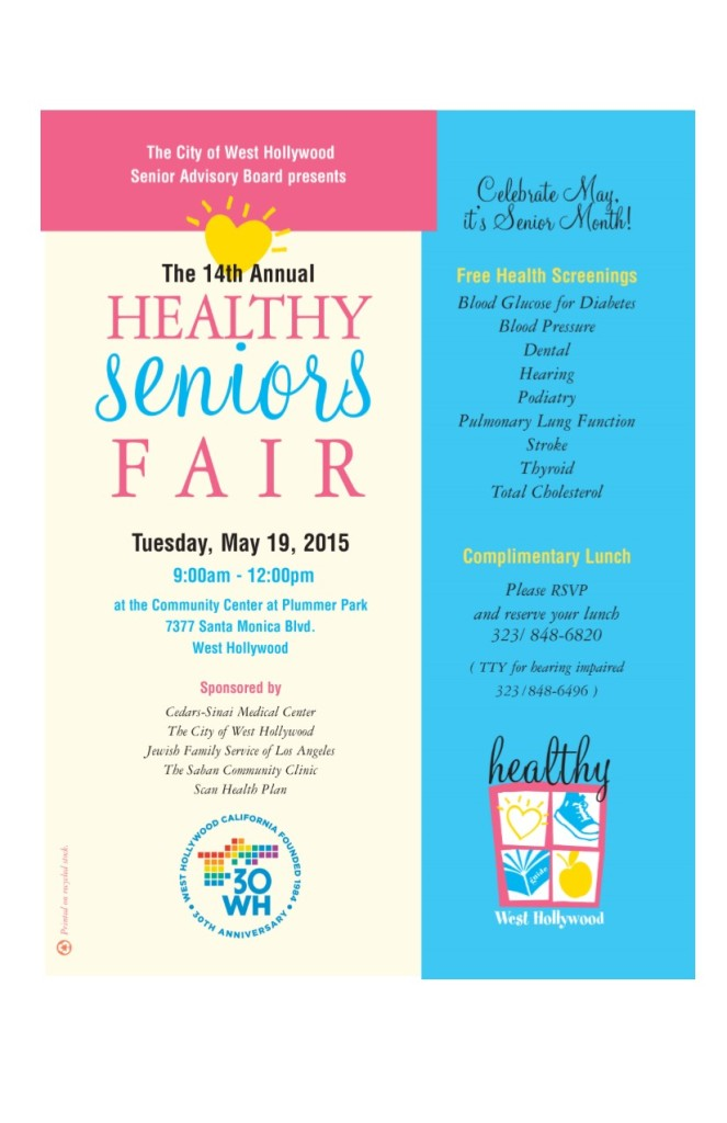 Healthy Seniors Fair