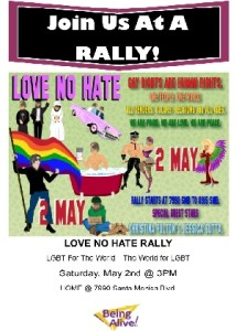 Love No Hate Rally