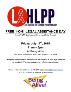 LAHLPP Free Legal Assistance Day