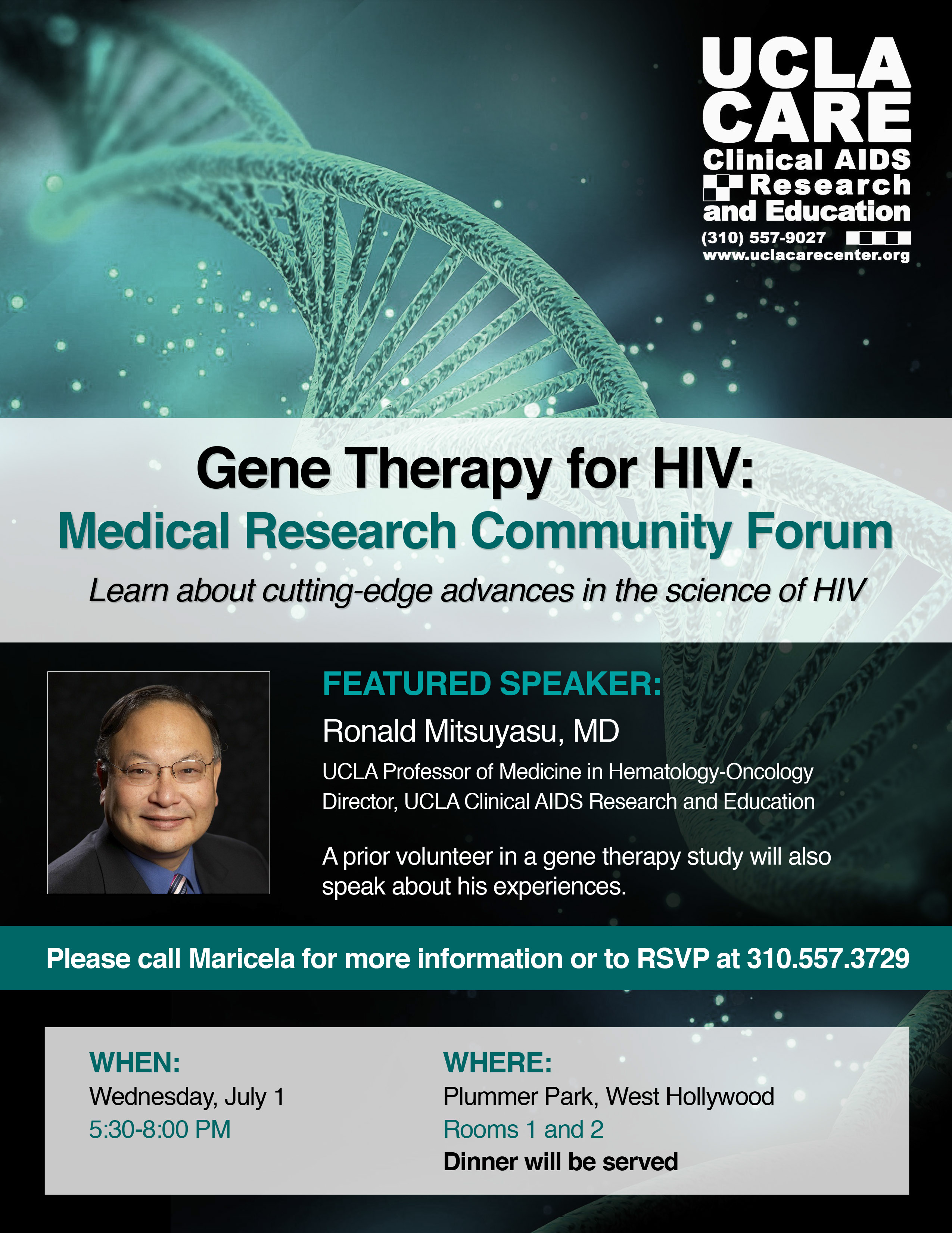 Medical Update | Gene Therapy for HIV - Being Alive