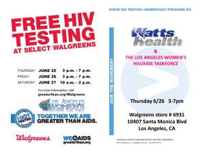 HIV Testing Flyer