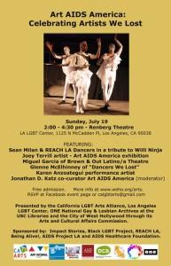 Art AIDS America Poster