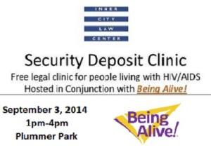 Security Deposit Clinic