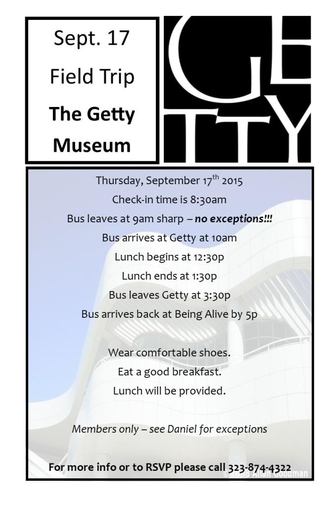 Getty Field Trip