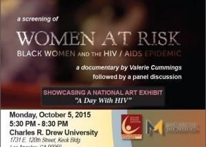Women at Risk Banner