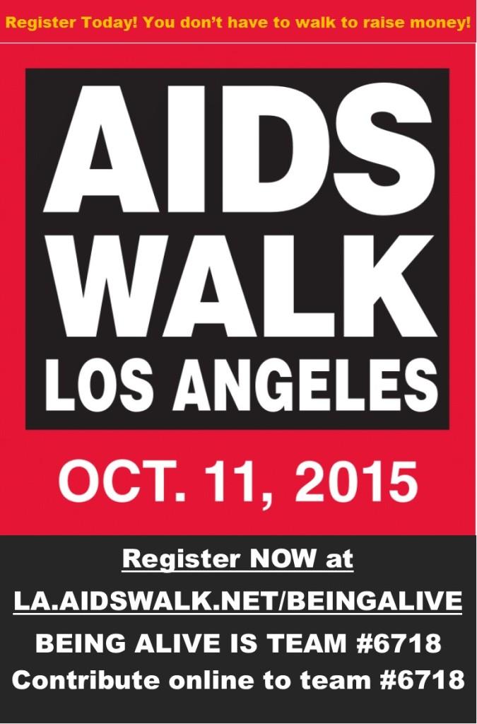 AIDS Walk Flyer