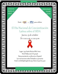 Latino AIDS Awareness Day