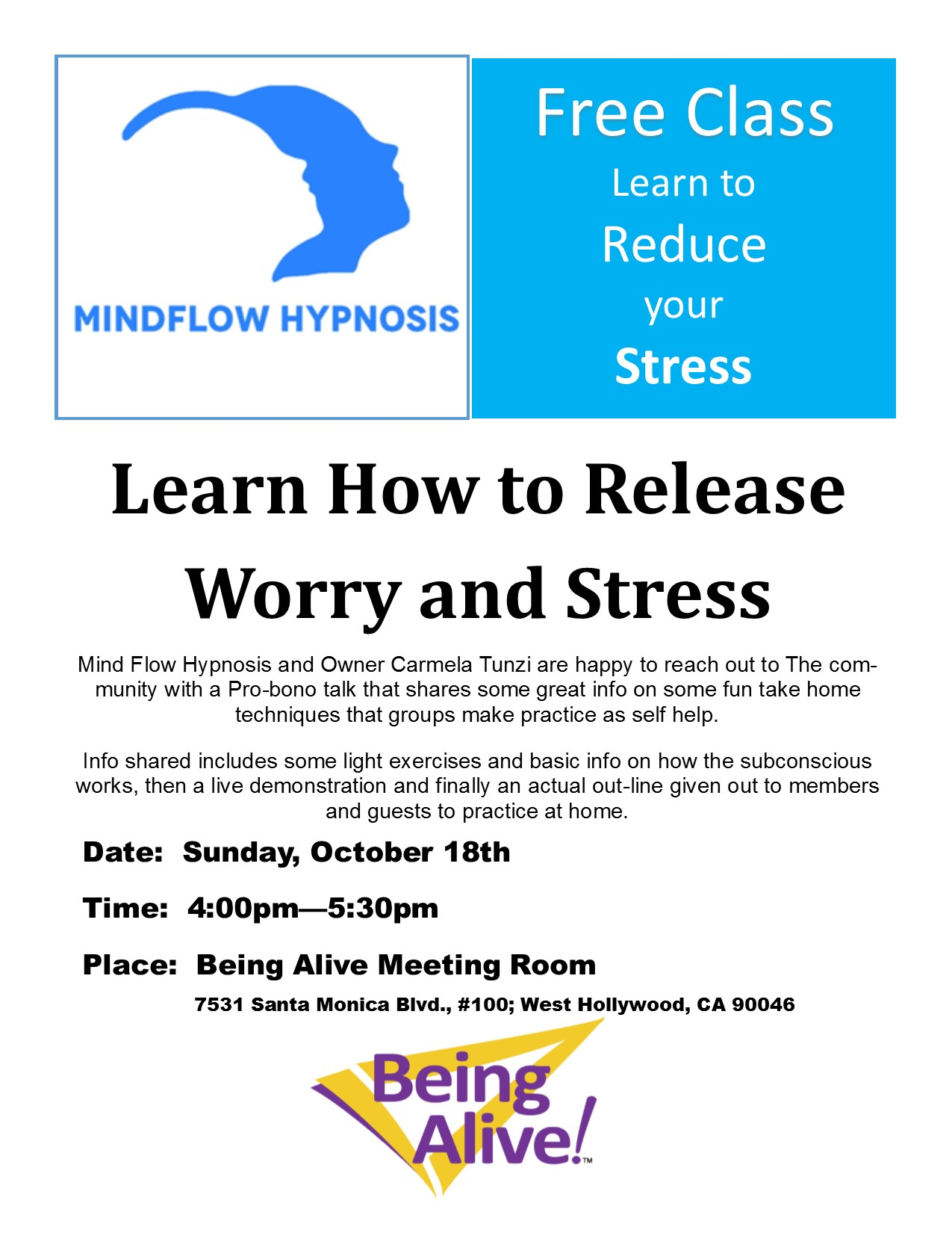 Mindflow Hypnosis