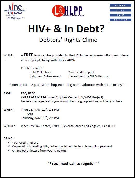 Debtors Rights Clinic