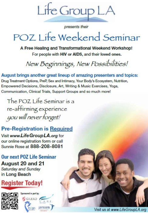 HIV Weekend Seminar