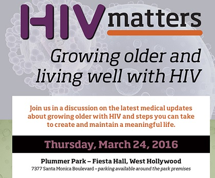 HIV Matters Poster
