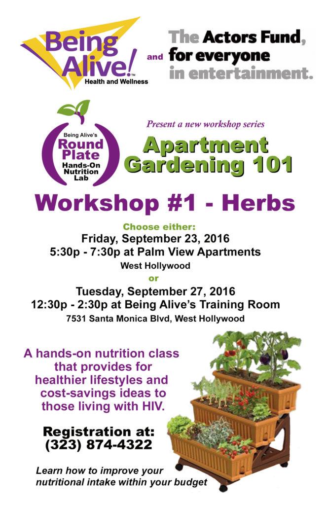 Apartment Gardening 101