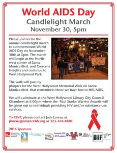 World AIDS Day March