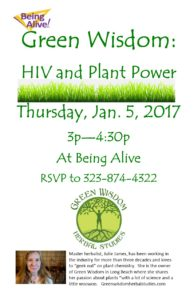 HIV and Plant Power
