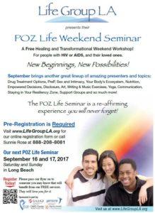 LifeGroup POZ Life Weekend