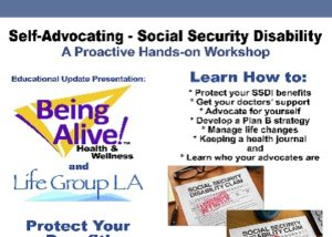 SSDI Self Advocating Workshop