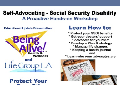 Self Advocating - Social Security Disability - Being Alive