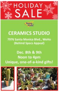 Sale at Ceramics Studio