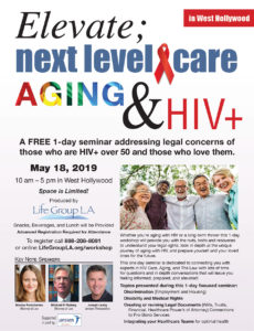 Workshop for people over 50 with HIV