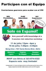 HIV and PrEP Workshop