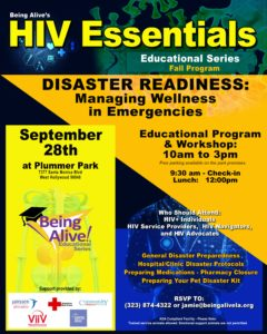 Poster for Disaster Readiness Workshop