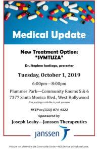Poster for Medical Update